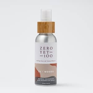 Z2 Woods Deodorant Spray | Chemical Free | ZeroYet100