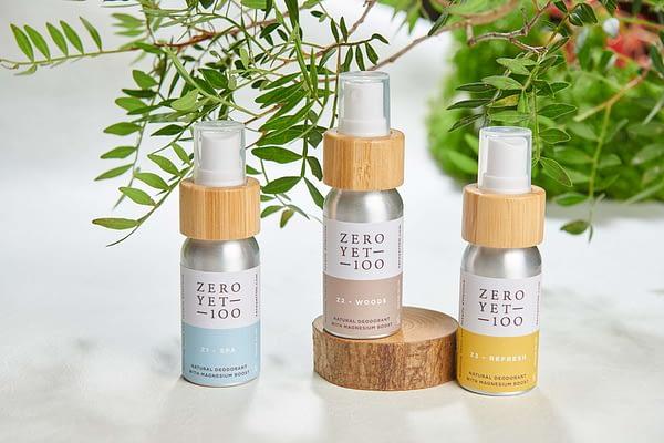 Mini Clean Deodorant Spray Travel Set