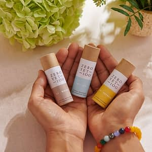 mini deodorant eco-friendly sticks