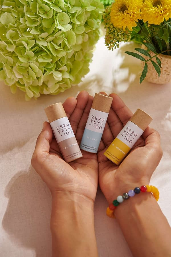mini deodorant eco-friendly sticks
