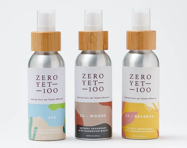 Natural Deodorant Spray Collection | ZeroYet100