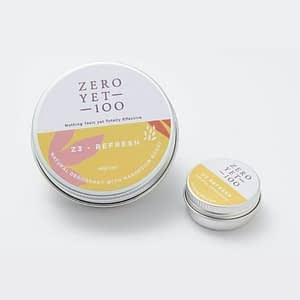 z3 Refresh Chemical Free Deodorant Pot | Full and Travel Size