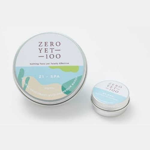 z1 Spa Natural Deodorant Pot | Full and Travel Sized