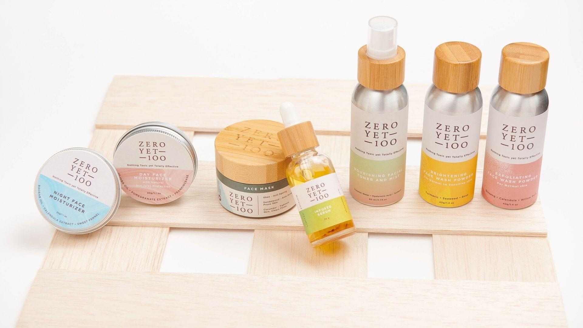 Clean Skincare | Wash Powder and Moisturizer