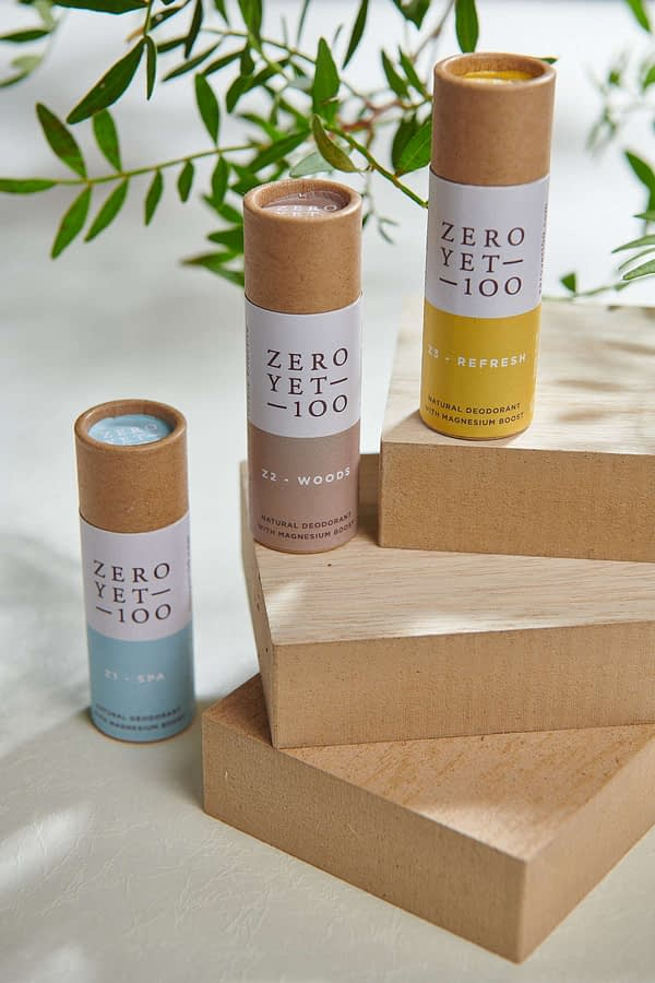 Eco-Friendly Mini Deodorant Stick Travel Set