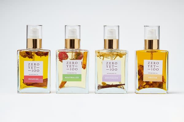 Infused Body Oil Collection | ZeroYet100