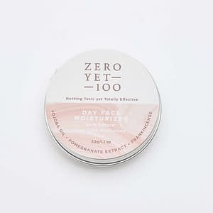 Hydrating Non-Greasy Day Face Moisturizer | Sun Protection | ZeroYet100