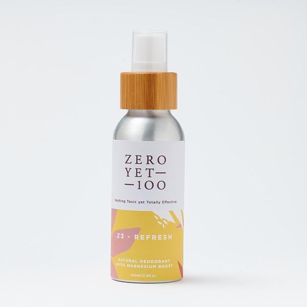 Z3 Refresh Deodorant Spray | Clean & Green | ZeroYet100