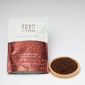 Coffee Based Shimmer Body Scrub | Exfoliate & Nourish | Unpacked