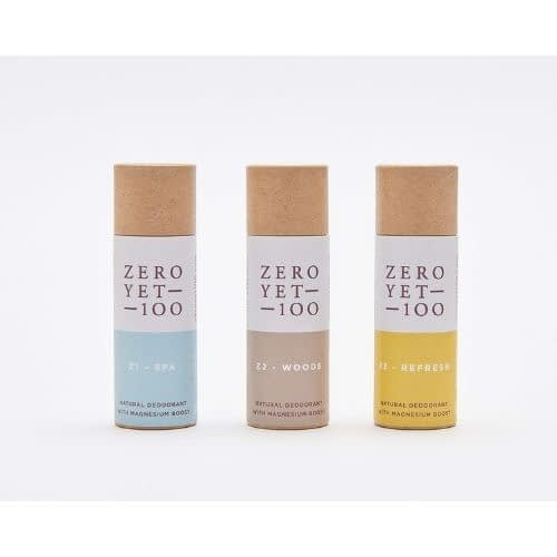 mini natural deodorant stick set