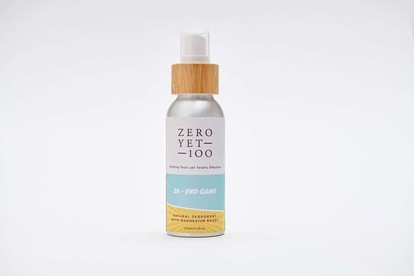 natural deodorant spray | zeroyet100