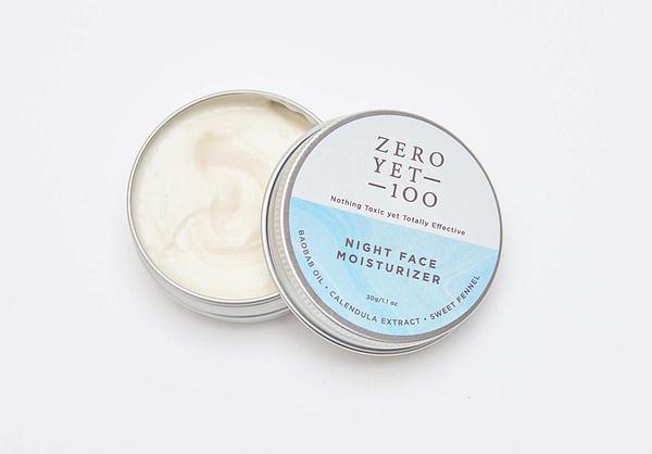 Natural Face Moisturizer | Anti Ageing | ZeroYet100