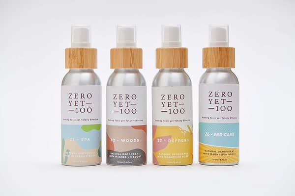 Vegan All-Natural Deodorant Spray Collection