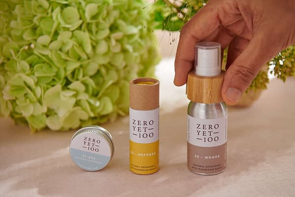 On the go Clean Deodorant Travel Set